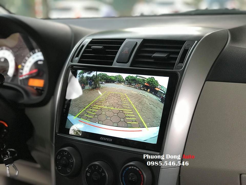 DVD Android Sim4G theo xe toyota ALTIS   DVD ZENTECH cao cấp rẻ nhất