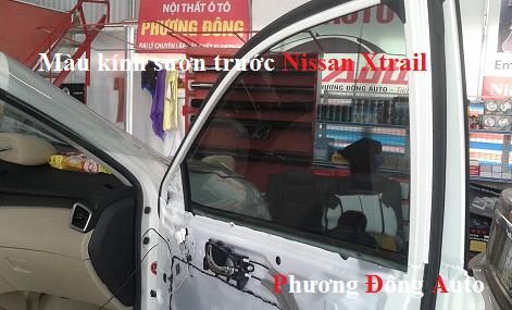 Dán kính cách nhiệt Classis Nissan X-Trail 2016   Dán phim cách nhiệt Niassan