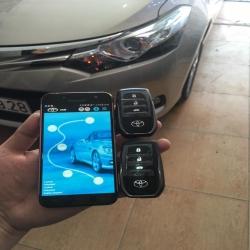 Smarkey Gookcar theo xe Toyota Vios (100% cắm rắc sử dụng Bluetooth)
