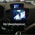 DVD Honda CRV 2014 - Chạy phần mềm Android